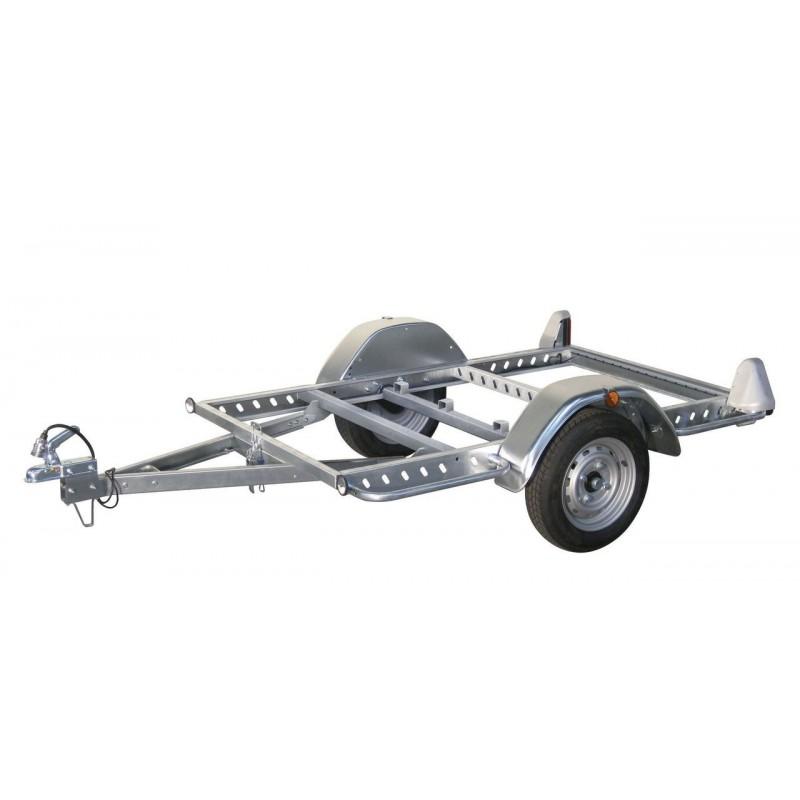 remorque chassis nu multy 200x144 bascul ptac750kg. Black Bedroom Furniture Sets. Home Design Ideas