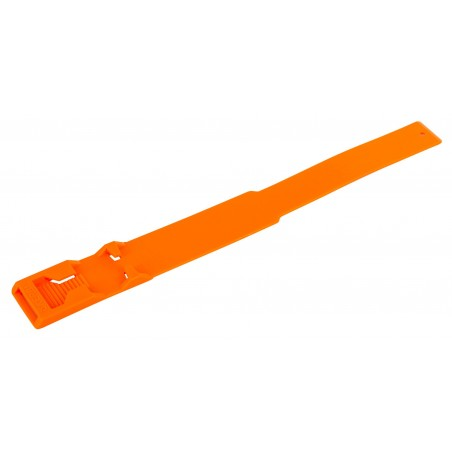 BRACELET PLASTIQUE ORANGE