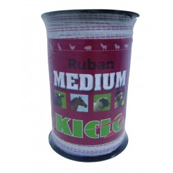 RUBAN CLOT MEDIUM 10MM 200M BLANC