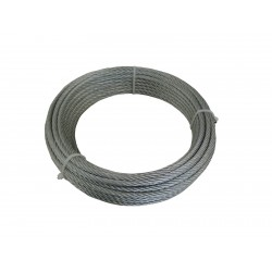 CABLE ACIER TYPE AVIATION 1 X 7 DIAM 1,5MM 15M