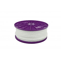CORDAGE POLYPRO DIAMETRE 6.0MM BLANC LE ML