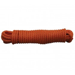 CORDAGE PP ECO ORANGE D10MM CAROTTE DE 15M