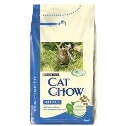 ALIMENT CHAT CAT CHOW ADULT THON ET SAUMON 1.5KG