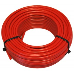CABLE HO7 VU 1.5 BOB.25M ROUGE