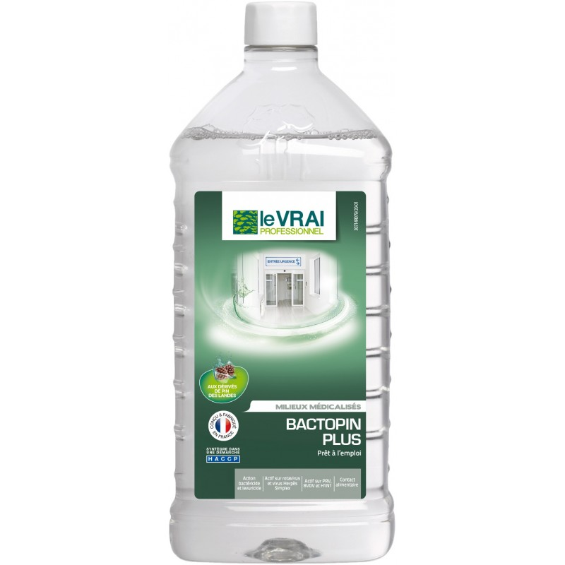 DESINFECTANT VIRUCIDE BACTOPIN PLUS 1 L