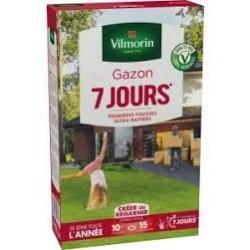 GAZON VILMORIN 7 JOURS 250G BOITE