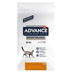 CROQUETTES CHAT ADVANCE VETERINARY WEIGHT BALANCE 1.5KG