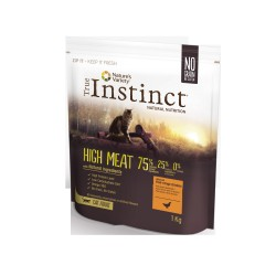 CROQUETTES POUR CHATS TRUE INSTINCT HIGH MEAT AU POULET 1KG