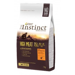 CROQUETTES POUR CHATS TRUE INSTINCT HIGH MEAT AU POULET 7KG