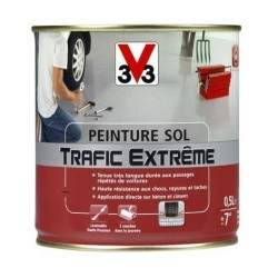 PEINTURE SOL TRAFIC EXTREME 0.5 L BLANC