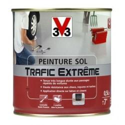 PEINTURE SOL TRAFIC EXTREME 0.5 L GRIS CLAIR