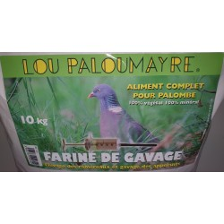 ALIMENT GAVAGE 10KG PALOMBE