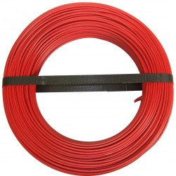 CABLE HO7 VU1 5 BOB 100M ROUGE