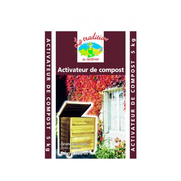 Activateur de compost sulfate ammoniaque 5kg pole vert - Activateur de compost ...