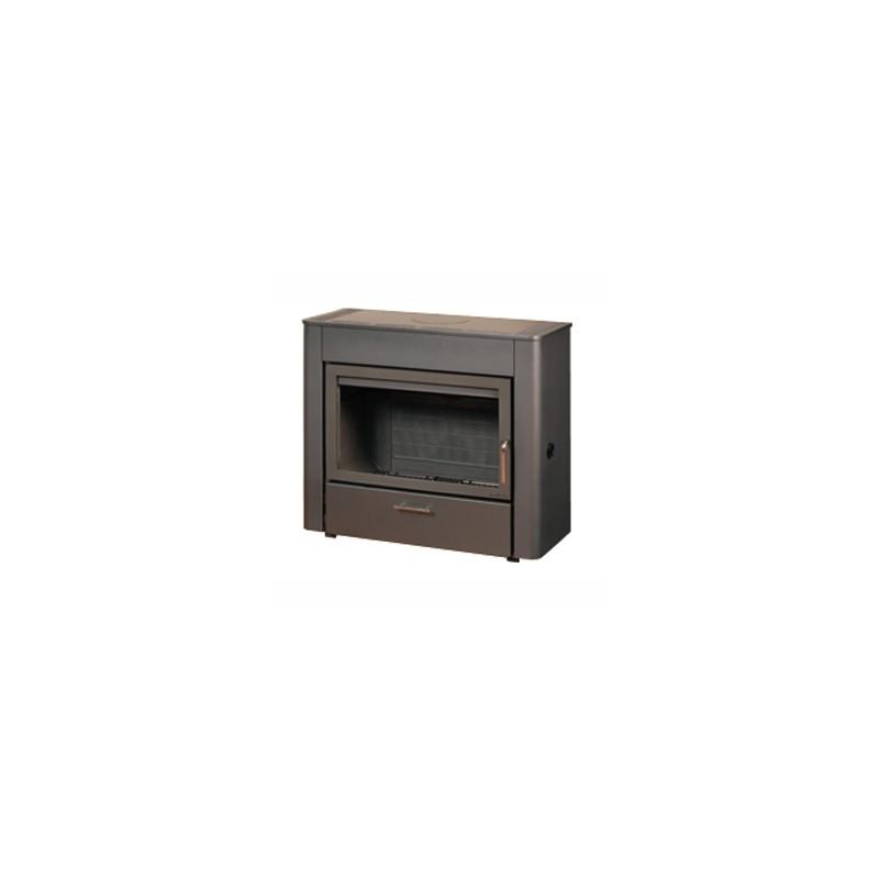 poele a bois deville betyle pole vert hinx dax. Black Bedroom Furniture Sets. Home Design Ideas