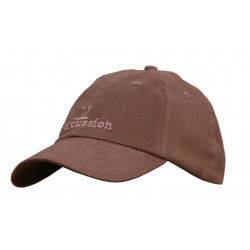 CASQUETTE PERCUSSION VELOURS MARRON T. UNIQUE TREESCO