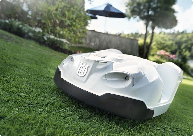 Un modèle de robot de tonte Husqvarna