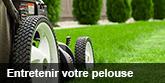 Entretenir votre pelouse