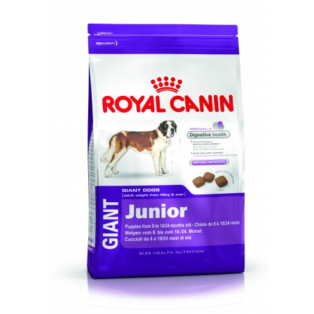 CROQUETTES CHIEN GIANT JUNIOR 15KG ROYAL CANIN