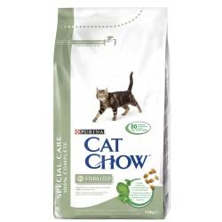 ALIMENT CHAT CAT CHOW STERILIZED 1,5KG