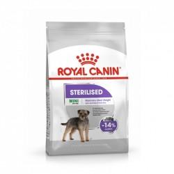Aliment chiens MINI STERILISED