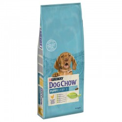 DOG CHOW PUPPY POULET ET RIZ 14 KG