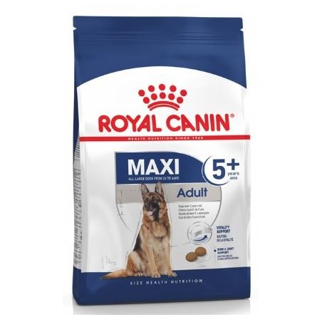 CROQUETTES CHIEN MAXI ADULT 5+ MATURE 15KG ROYAL CANIN