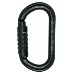 Mousqueton OK Triact-Lock noir PETM33 TLN PETZL