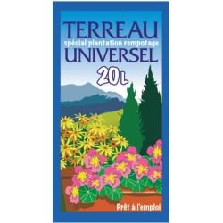 TERREAU UNIVERSEL BIO SAC DE 20 L