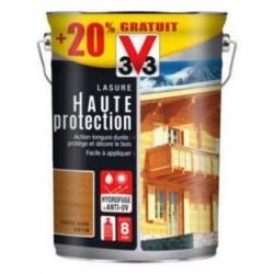 LASURE HAUTE PROTECTION BOIS CHENE DORE 5L+20% V33
