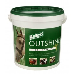 ALIMENT CHEVAL OUTSHINE WITH SPEARMINT 20KG