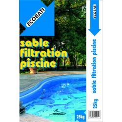 SABLE FILTRATION PISCINE 25KG