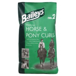 ALIMENT CHEVAL WORKING HORSE PONY CUBES 20KG