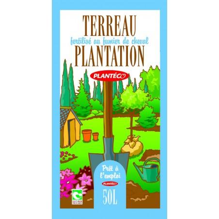 TERREAU DE PLANTATION ECOCERT BIO 50 L