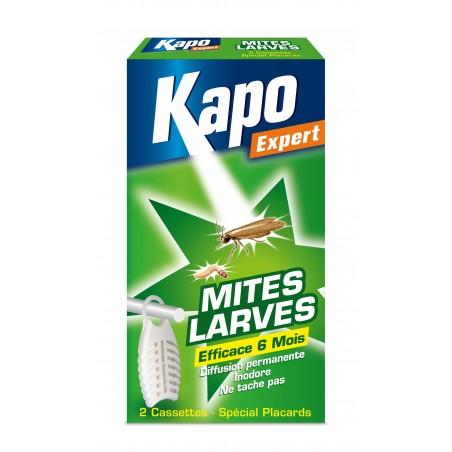 CASSETTES MITES-LARVES X2