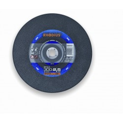 DISQUE TRONC.METAL 300X3X25.4