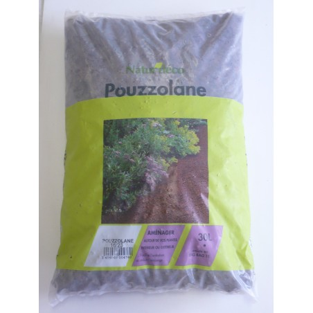 POUZZOLANE DECORATIVE  LE SAC DE 30 L