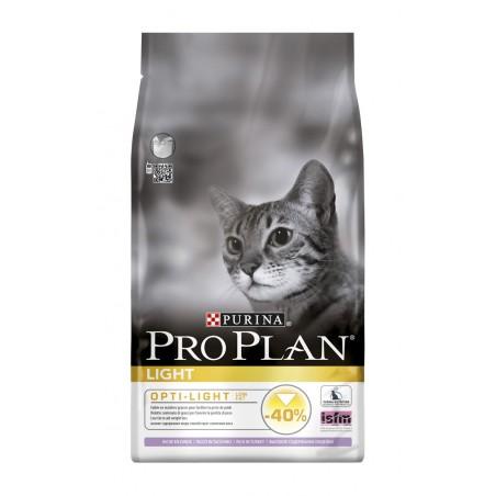 ALIMENT CHAT PRO PLAN CAT LIGHT DINDE ET RIZ 1.5KG