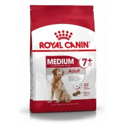 CROQUETTES CHIEN MEDIUM ADULT 7+ 15KG