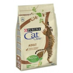 CROQUETTES CHAT CAT CHOW ADULT  CANARD 3KG PURINA