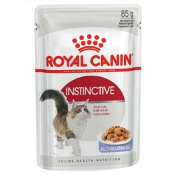 ALIMENT CHAT INSTINCTIVE JELLY 85G
