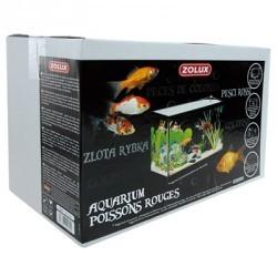 AQUARIUM 400X200X250 19L +ACC +POMPE