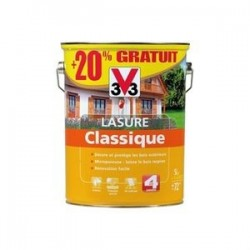 LASURE BOIS CLASSIQUE CHeNE CLAIR 6 L