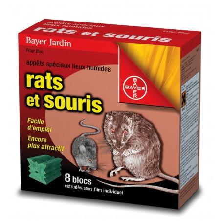 BLOCS EXTRUDES RAT ET SOURIS X8