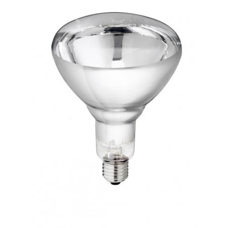 LAMPE IR PHILIPS150W 240V BLANCHE.VERRE RENFORCE
