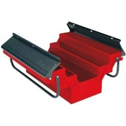 BOITE A OUTILS 5 CASES 45X20X2