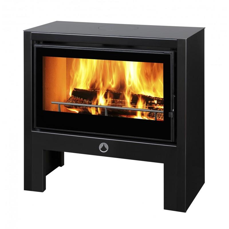 poele a bois deville mercure 80 11kw buche 60cm pole vert montauban. Black Bedroom Furniture Sets. Home Design Ideas