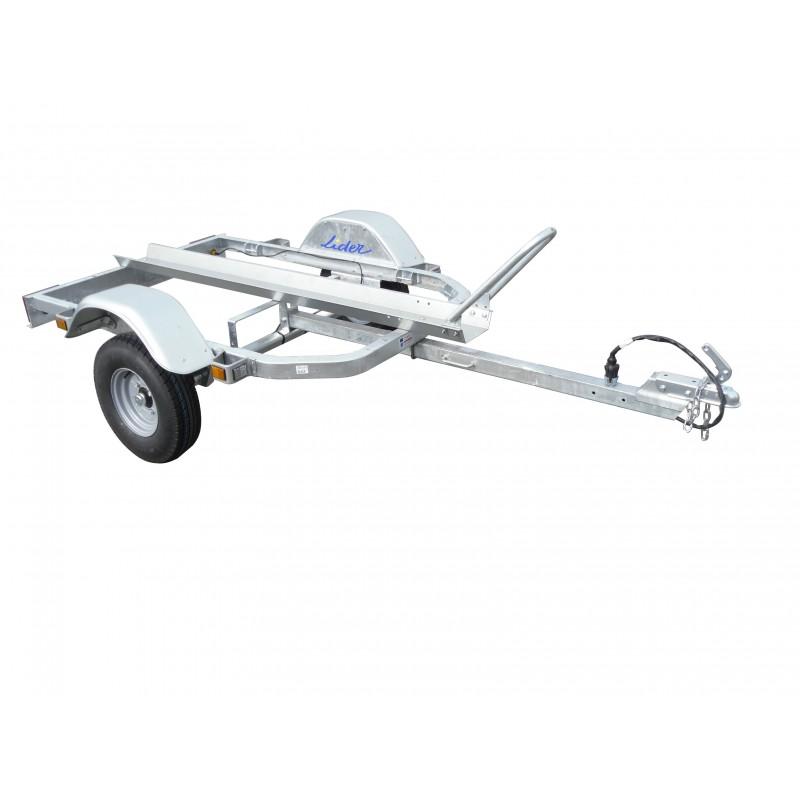 remorque chassis seul porte moto eco pole vert montauban. Black Bedroom Furniture Sets. Home Design Ideas