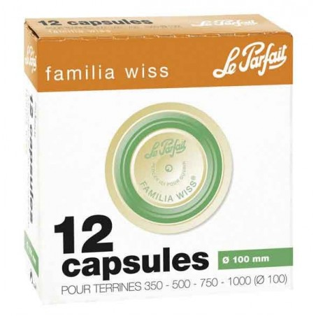 CAPSULES FAMILIA WISS D.100 X12