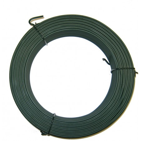 FIL TENSION PLASTIFIE VERT 2.4mm LONG 50M